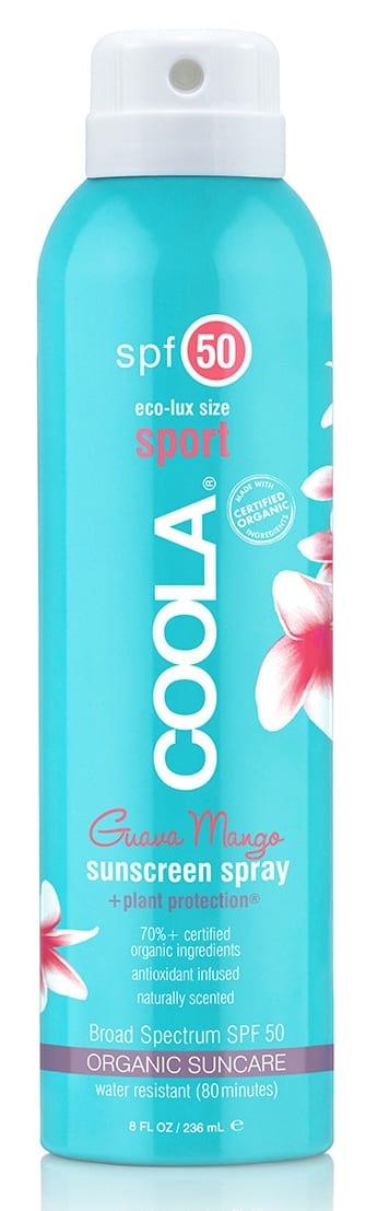 Coola-Sonnenspray-Sport-SPF-50-Guava-Mango